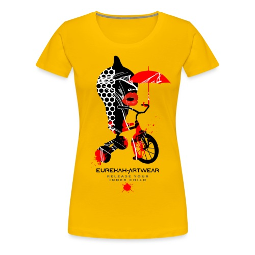 RELEASE YOUR INNER CHILD I - Women's Premium T-Shirt