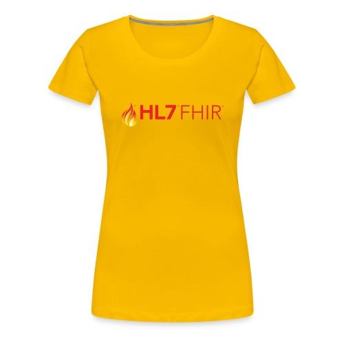HL7 FHIR Logo - Women's Premium T-Shirt
