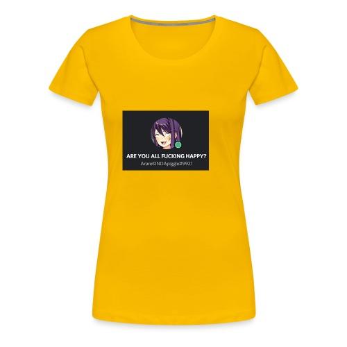 weeabooanus - Women's Premium T-Shirt