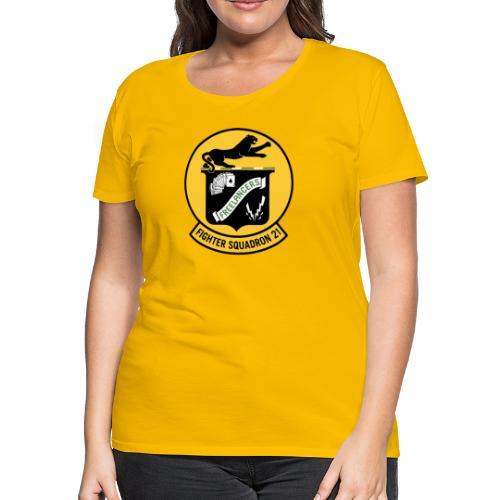 Fighter Squadron Twenty One VF-21 - Women's Premium T-Shirt