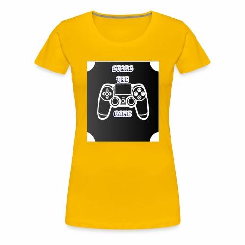 stars the game - Women's Premium T-Shirt