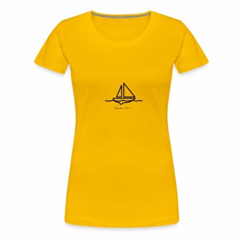 Proverbs 3:5-6 logo black - Women's Premium T-Shirt