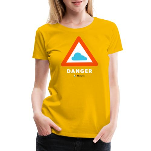 Danger Clouds! - Women's Premium T-Shirt