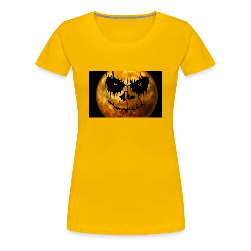 moon for halloween - Women's Premium T-Shirt