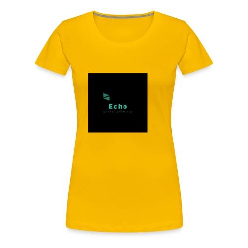 Echo Clan Offical Logo Merch - Women's Premium T-Shirt