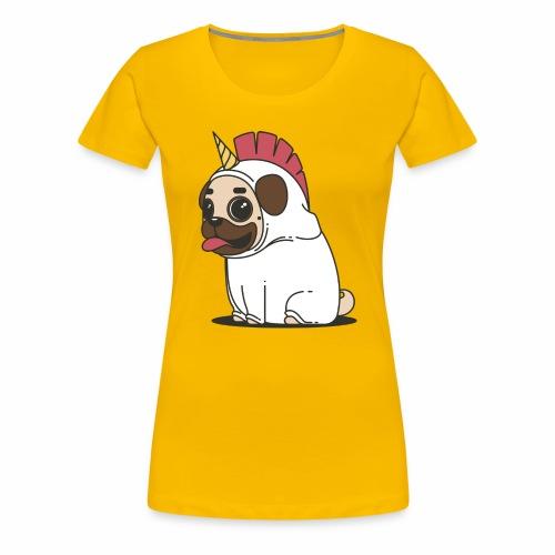 Pug Love - Women's Premium T-Shirt