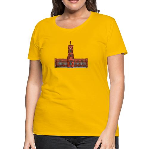 Red City Hall Berlin - Women's Premium T-Shirt
