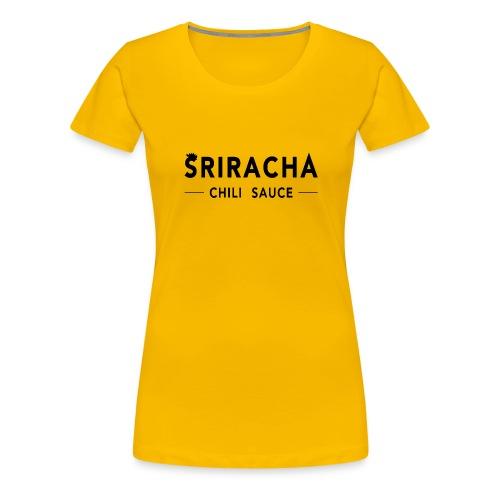 sriracha sauce merch - Women's Premium T-Shirt