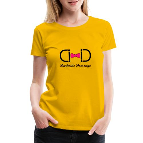 Darkside Dressage Logo - Black letters- Limited! - Women's Premium T-Shirt