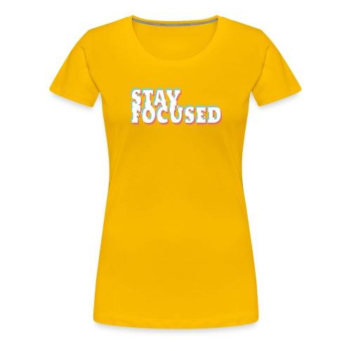 focused - Women's Premium T-Shirt
