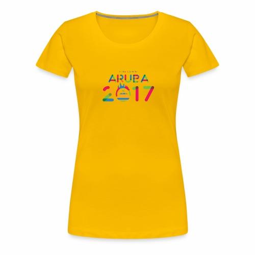 Aruba 2017 - Women's Premium T-Shirt