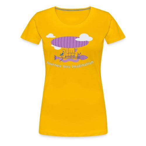 Airship of Dreams - Women's Premium T-Shirt