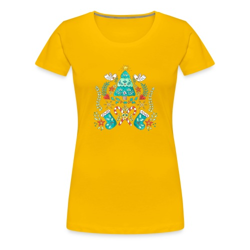 christmas ness - Women's Premium T-Shirt