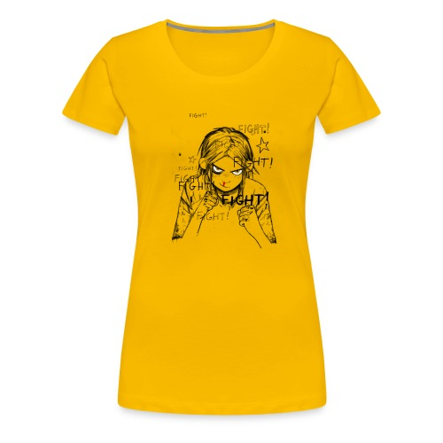 Street Angel Fight - Women's Premium T-Shirt