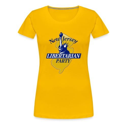 NJ Libertarian Party - Women's Premium T-Shirt