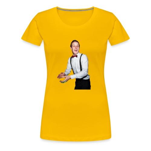 Matt Orange shirt. Christmas presant. - Women's Premium T-Shirt