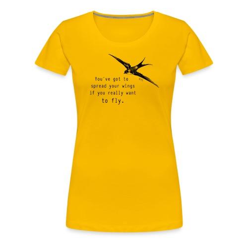 wings - Women's Premium T-Shirt