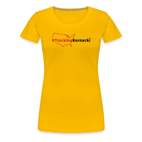 Tracking kornacki Dad - Women's Premium T-Shirt