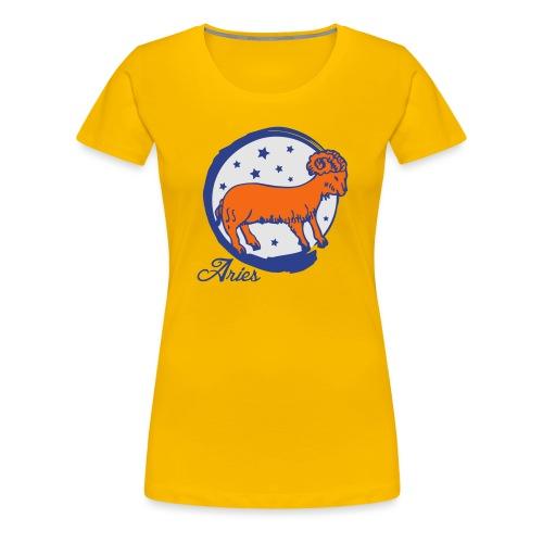 Aries - Women's Premium T-Shirt