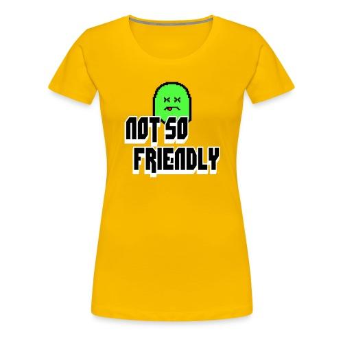 not_so_friendly_logo - Women's Premium T-Shirt