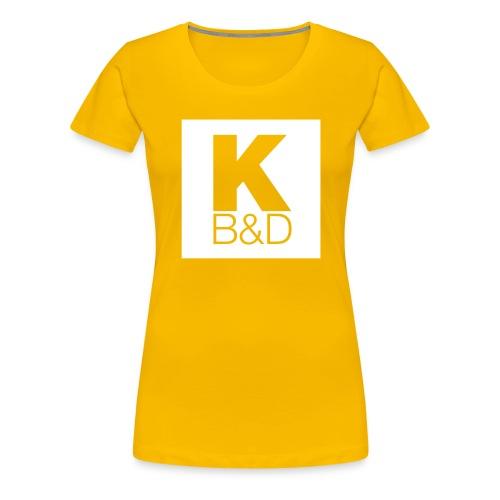 KBD_White - Women's Premium T-Shirt