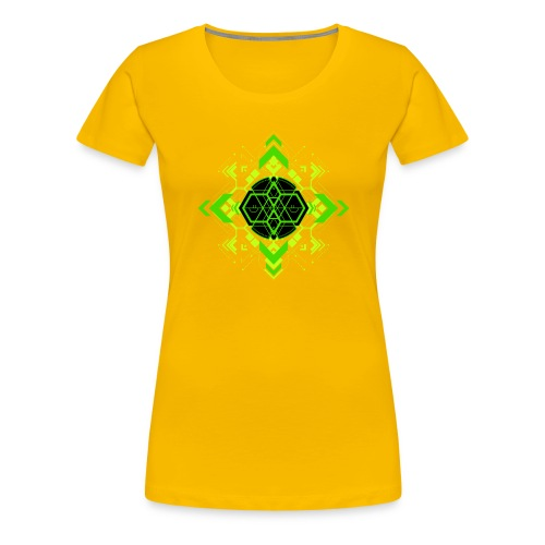 Design2_green - Women's Premium T-Shirt