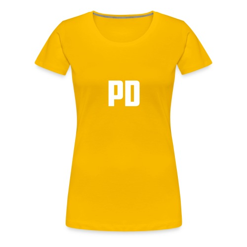 POWdrummer's Logo Shirt - Women's Premium T-Shirt