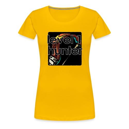 Warcraft Baby: Level 1 Hunter - Women's Premium T-Shirt