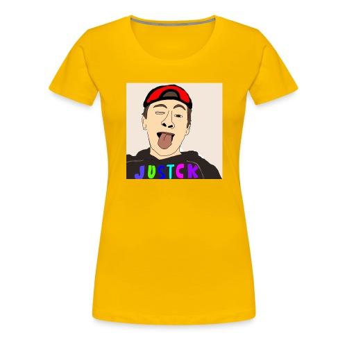 JustCk self drawn by Dazadingo - Women's Premium T-Shirt