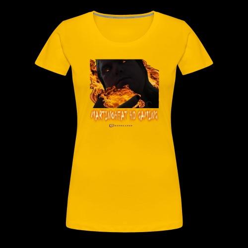 Martinoheat HD Gaming button - Women's Premium T-Shirt