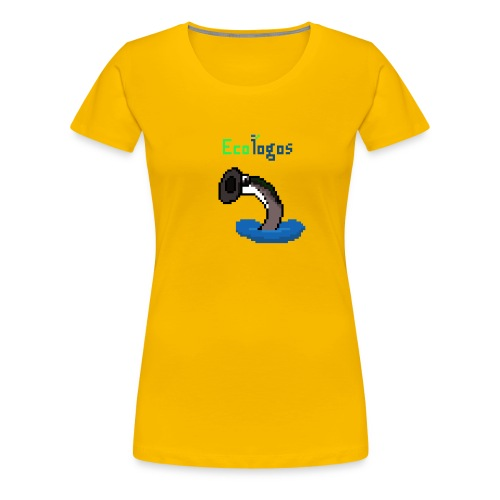 Pixel Sea Lamprey - Women's Premium T-Shirt