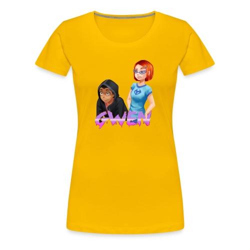 Gwen - Women's Premium T-Shirt