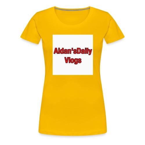 Aidan'sDailyVlogsTshirts - Women's Premium T-Shirt