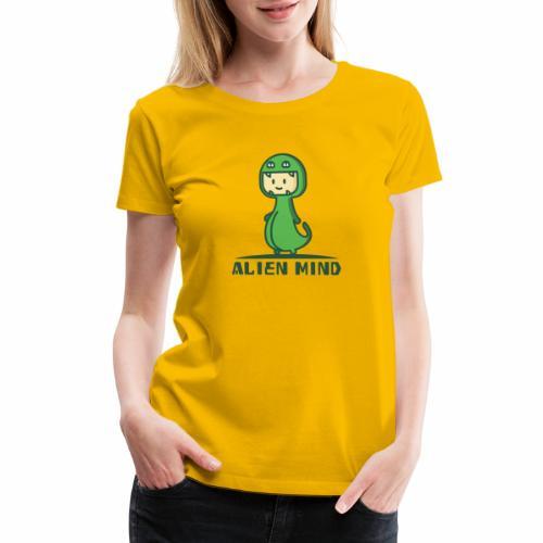 Alien Mind - Women's Premium T-Shirt