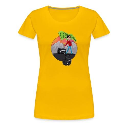 Cartoon CJ - Women's Premium T-Shirt