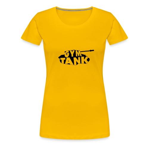 Gym Tank gym exercise - Women's Premium T-Shirt