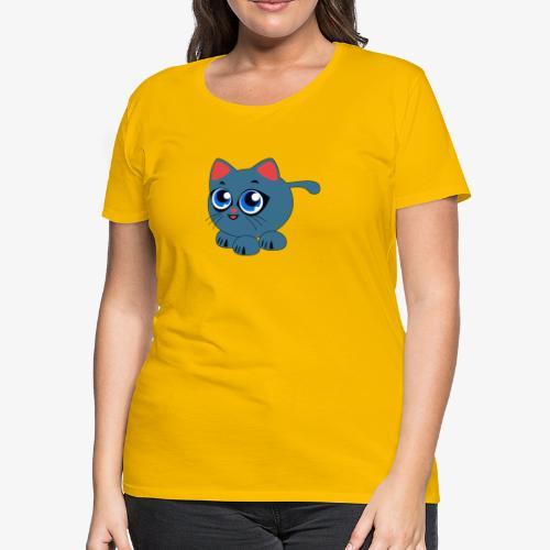 Baby Cat Funny - Women's Premium T-Shirt