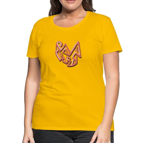 coral abstract design - Women's Premium T-Shirt