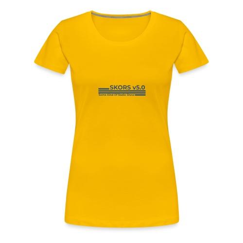 New SKORS Logo - Women's Premium T-Shirt