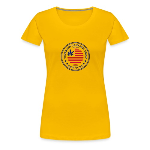 VCG Logo Post 2 NY - Women's Premium T-Shirt
