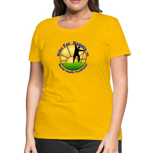Hike Tops & Buttons - Women's Premium T-Shirt