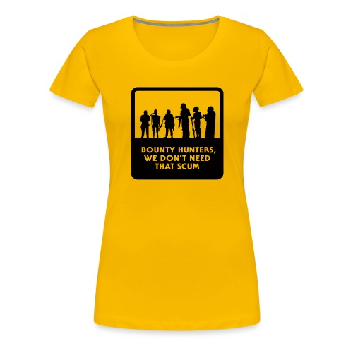 Bounty Hunters - Women's Premium T-Shirt