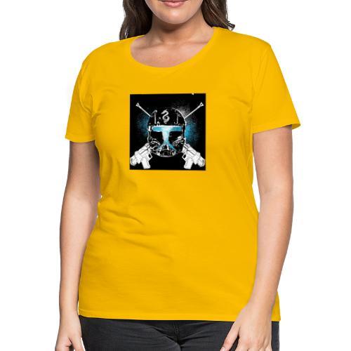 masked guns - Women's Premium T-Shirt