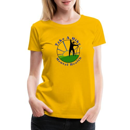 Take A Hike For Mental Health - Women's Premium T-Shirt