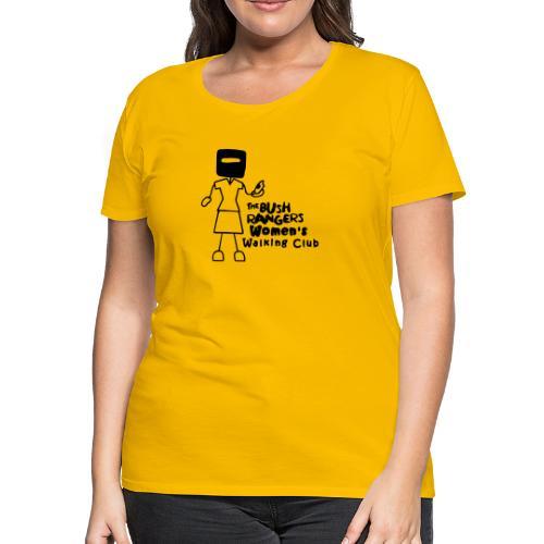 BWWC Logo - Women's Premium T-Shirt
