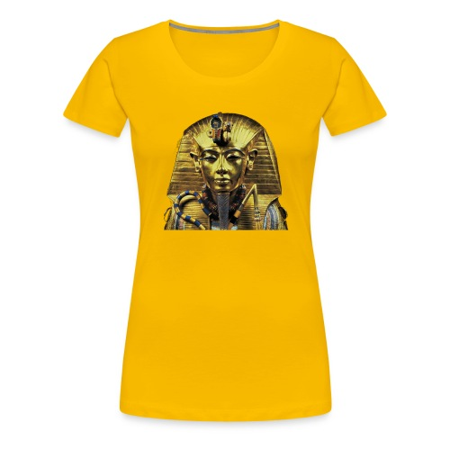 Tutankhamun Pharaoh of Egypt Products and T-shirts - Women's Premium T-Shirt
