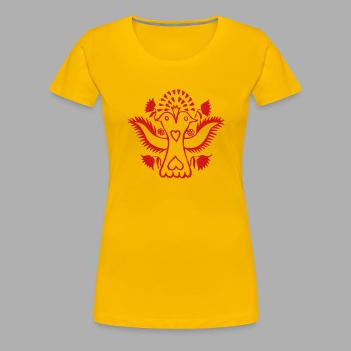 Double headed Lovebird - Women's Premium T-Shirt