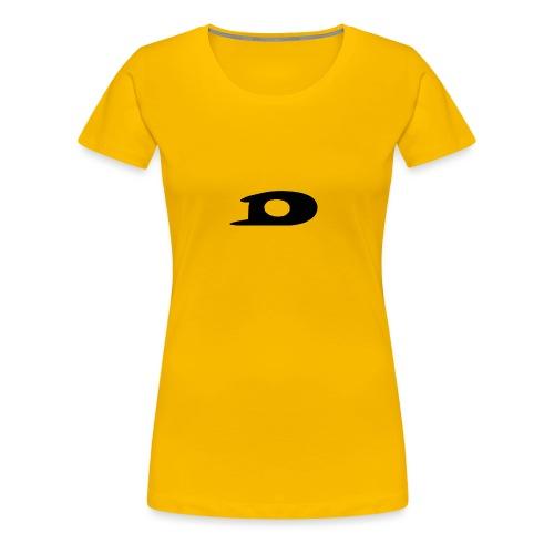 ORIGINAL BLACK DETONATOR LOGO - Women's Premium T-Shirt