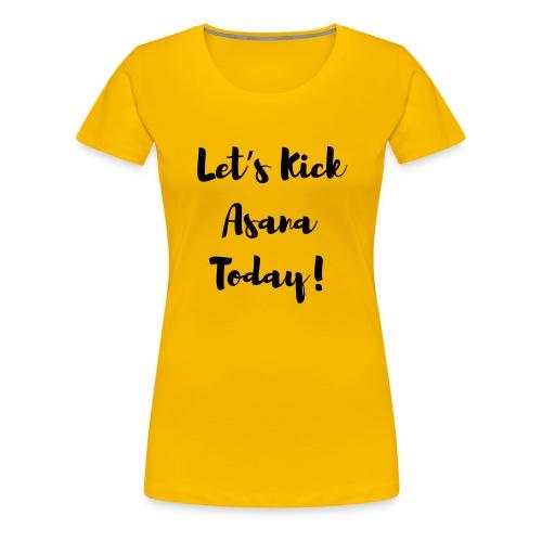 Asana - Women's Premium T-Shirt