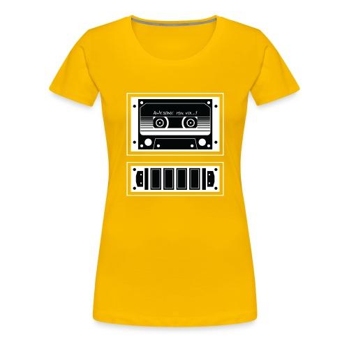 Awesome Mix - Women's Premium T-Shirt